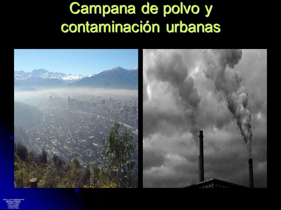 Campana de polvo y contaminación urbanas PEDRO A. JURADO (COORDINADOR) MIGUEL A. ALMENDROS FRANCISCO J. BERNAD YOLANDA CAMPILLO JUAN A. PALACIOS CARME