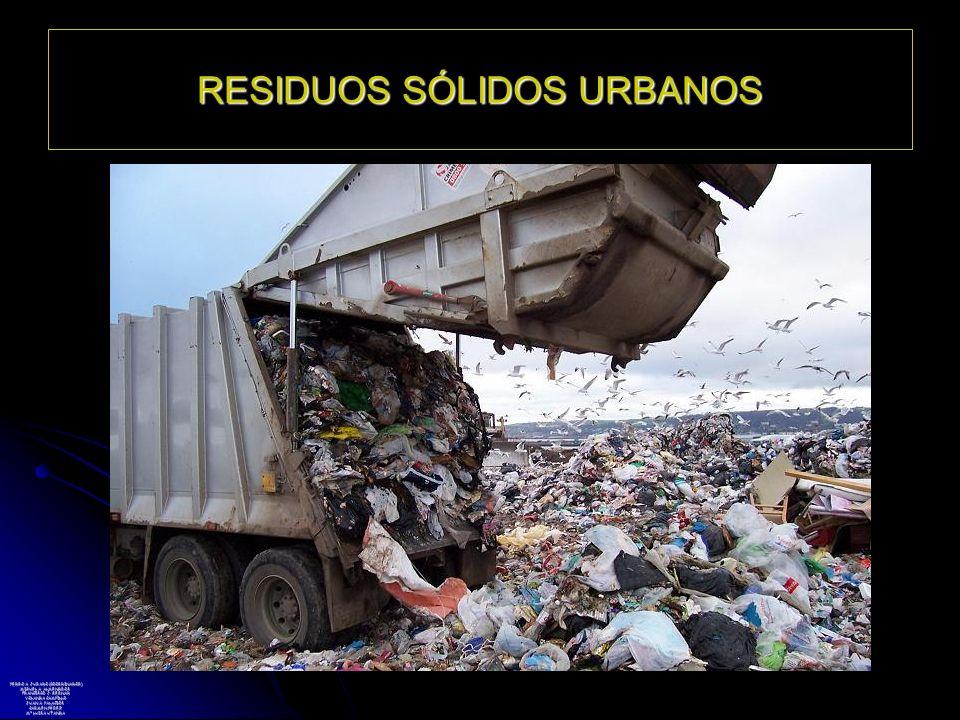 RESIDUOS SÓLIDOS URBANOS PEDRO A. JURADO (COORDINADOR) MIGUEL A. ALMENDROS FRANCISCO J. BERNAD YOLANDA CAMPILLO JUAN A. PALACIOS CARMEN PÉREZ Mª LUISA