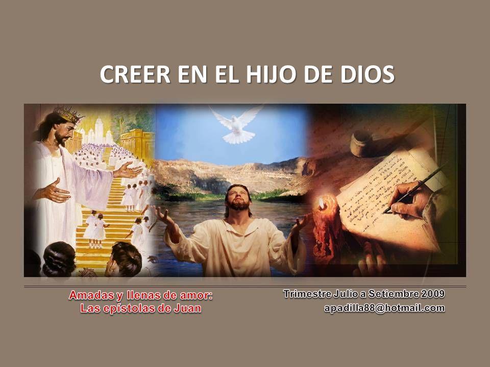 CREER EN EL HIJO DE DIOS