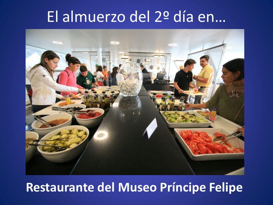 El almuerzo del 2º día en… Restaurante del Museo Príncipe Felipe