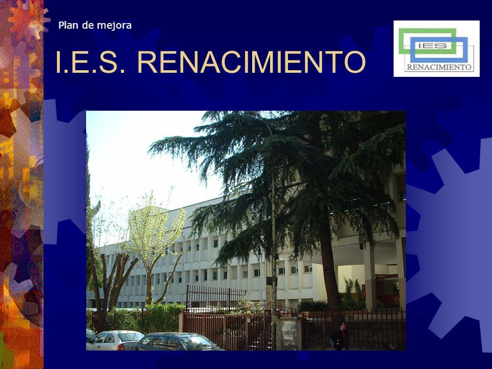 Plan de mejora I.E.S. RENACIMIENTO Plan de mejora