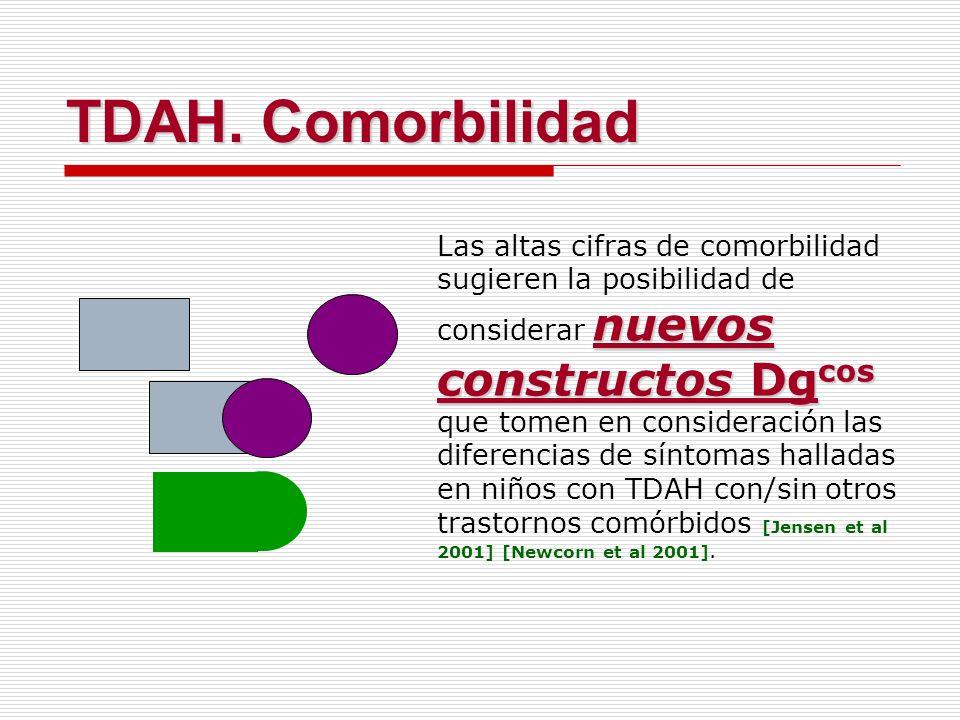 nuevos constructos Dg cos Las altas cifras de comorbilidad sugieren la posibilidad de considerar nuevos constructos Dg cos que tomen en consideración