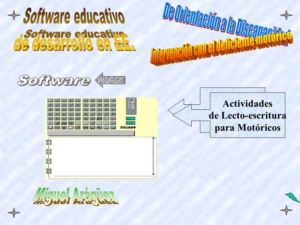 Teclado Virtual Actividades de Lecto-escritura para Motóricos