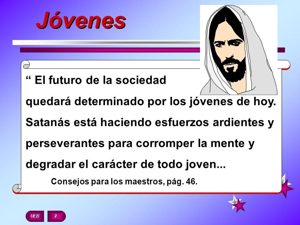 El futuro de la sociedad quedará determinado por los jóvenes de hoy. Satanás está haciendo esfuerzos ardientes y perseverantes para corromper la mente