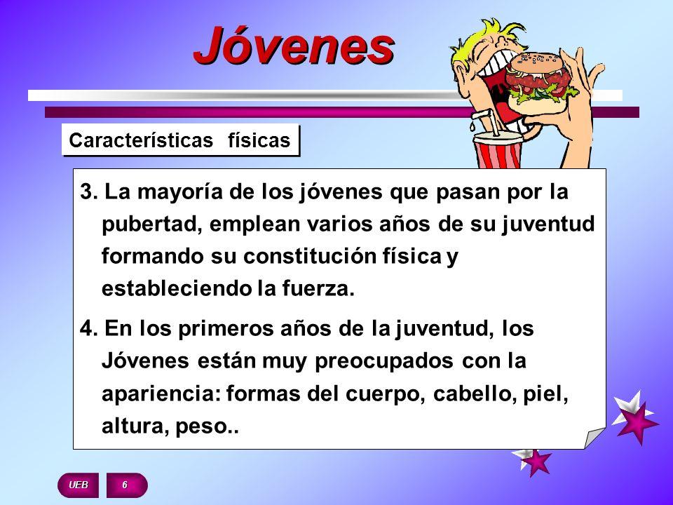 Características físicas 5.