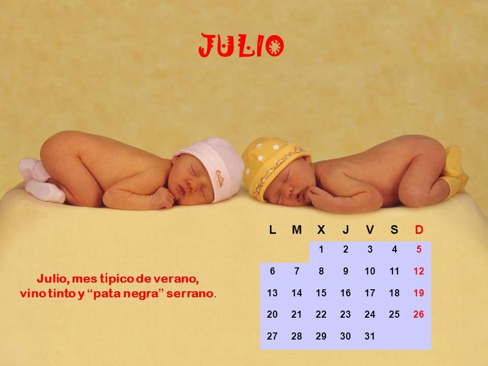 LMXJVSD 1234567 891011121314 15161718192021 22232425262728 2930 JUNIO En Junio termina la primavera y maduran las cerezas en La Vera.