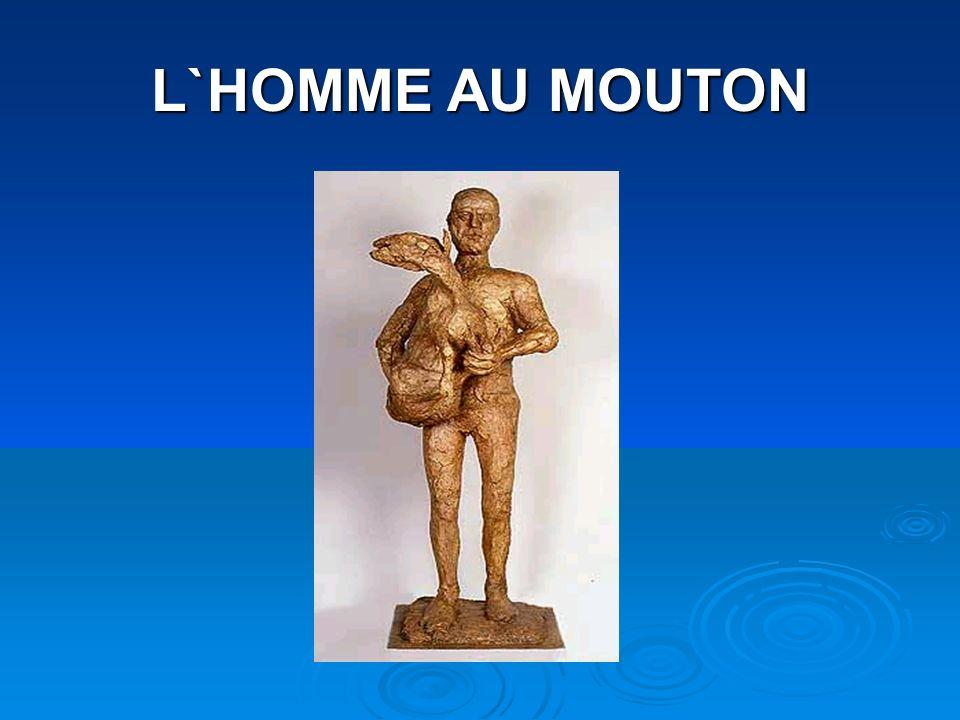 L`HOMME AU MOUTON