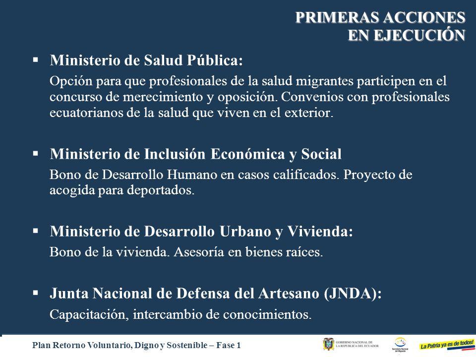 Ministerio de Salud Pública: Opción para que profesionales de la salud migrantes participen en el concurso de merecimiento y oposición. Convenios con