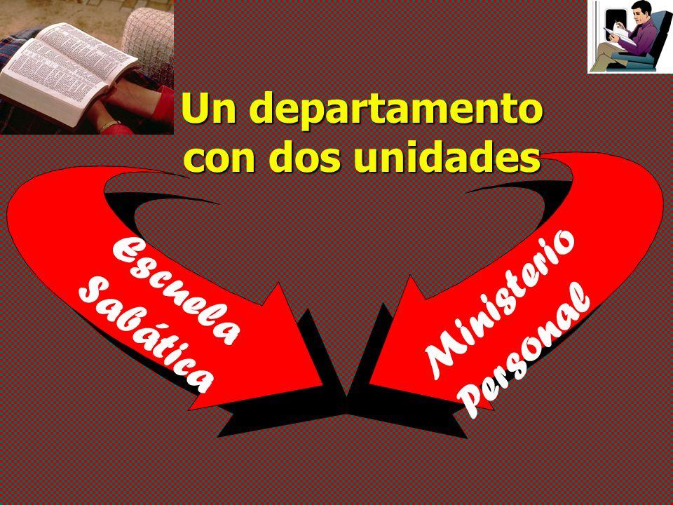 Ministerio Personal Escuela Sabática Un departamento con dos unidades