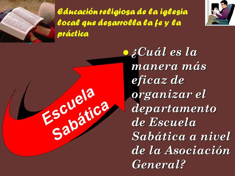 Escuela Sabática Ministerio Personal vPvPvPvPadrones Organizacionales