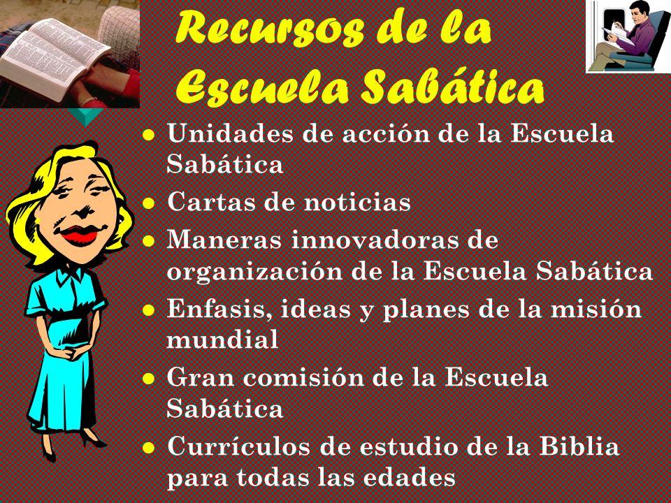 Publicaciones de la Escuela Sabática 22 Publicaciones trimestrales. 22 Publicaciones trimestrales. Lecciones de estudio para todos los niveles. Leccio