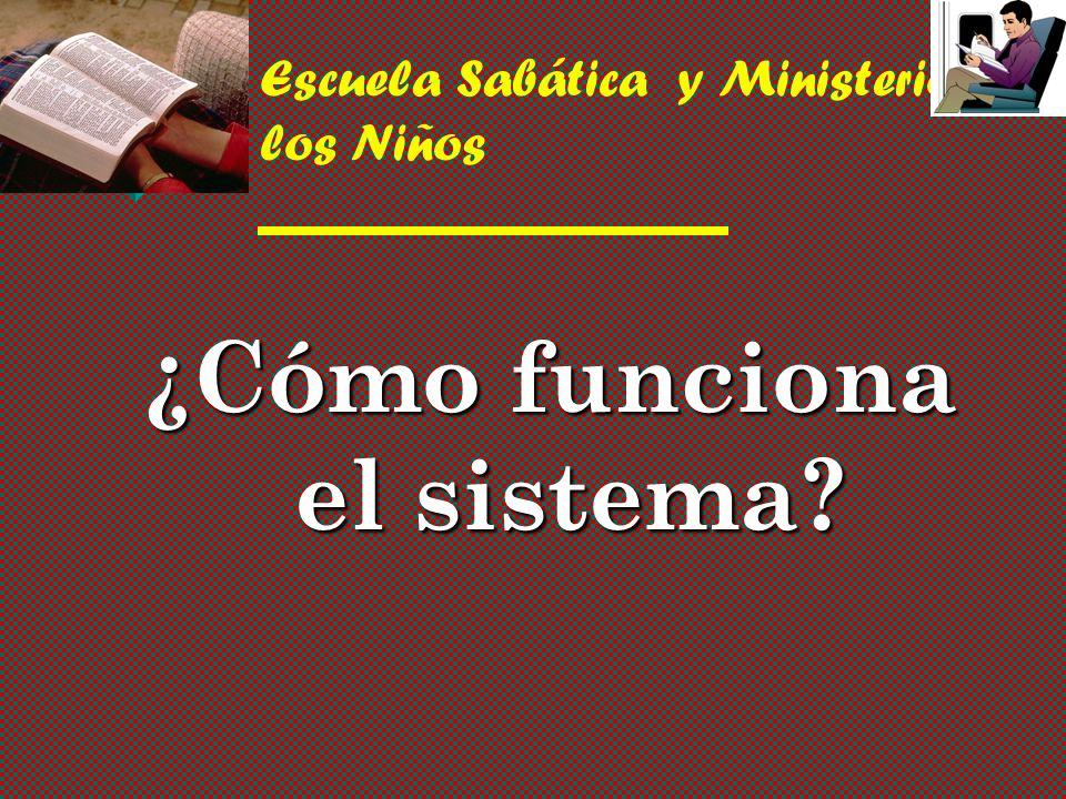 Escuela Sabática y Ministerios de los Niños ¿Cómo funciona el sistema?
