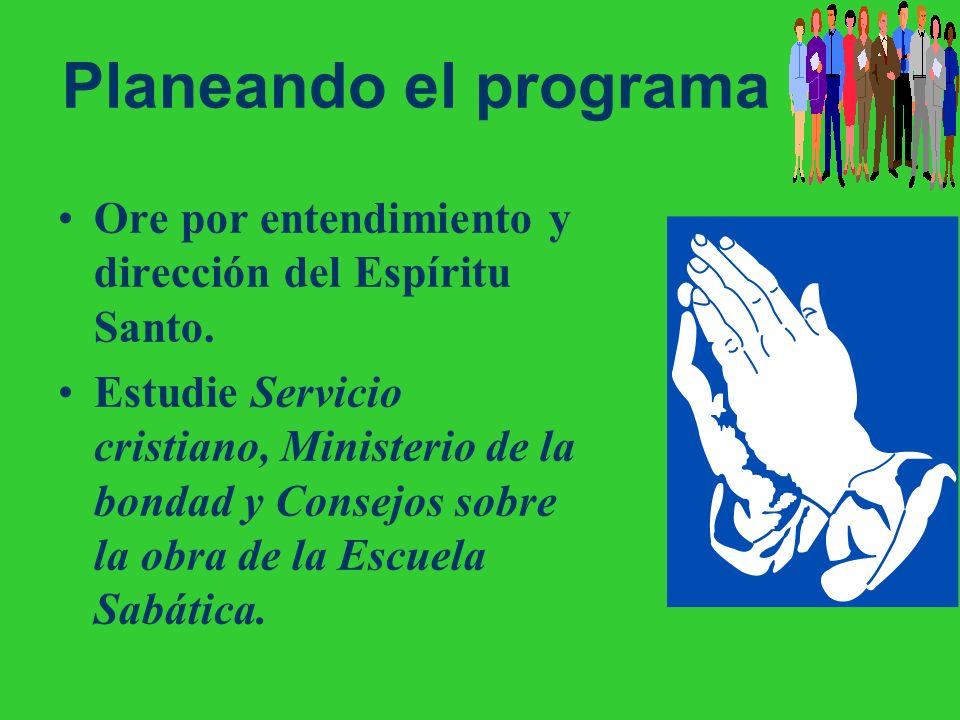 Planificación e inicio del programa de la asociación/misión