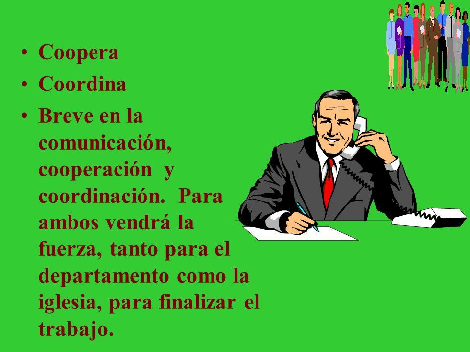 El Director de Escuela Sabática/Ministerio Personal y su Presidente El presidente es el responsable por todos los departamentos. El director de ES/MP