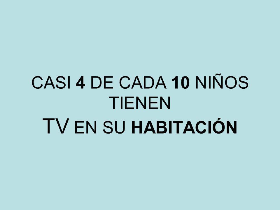 SOLO 3 DE CADA 10 PADRES VE LA TV SIEMPRE O CASI SIEMPRE CON SUS HIJOS