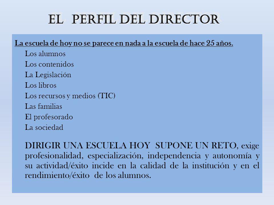 FORMACIÓN PREVIA La actual legislación apuesta por la formación inicial, previa y obligatoria, para el acceso a la Dirección.