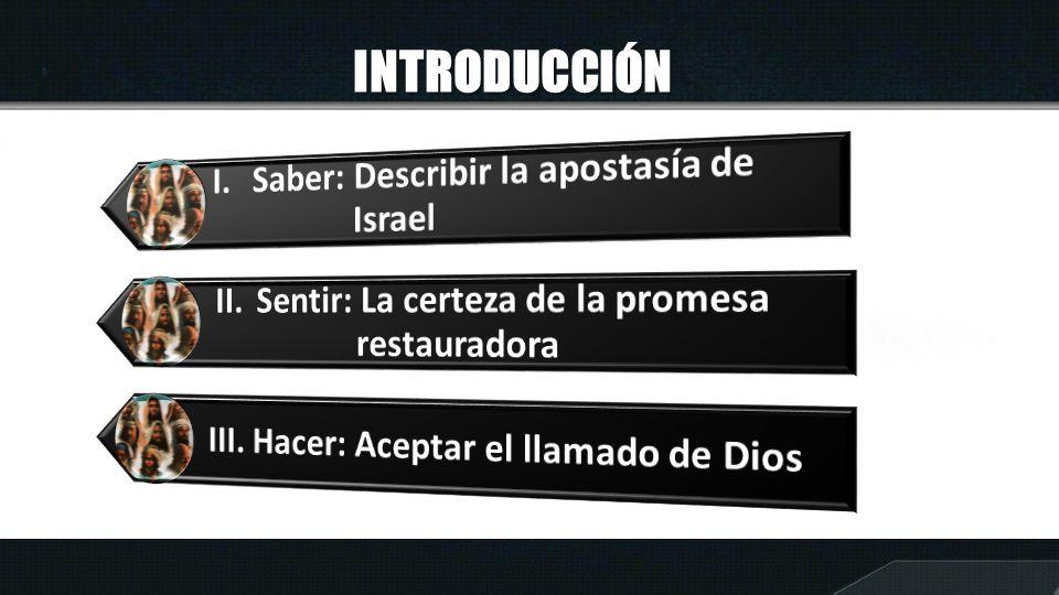I.APOSTASÍA DE ISRAEL Según Oseas 2:8,12 ¿De qué manera Israel cometió adulterio espiritual.