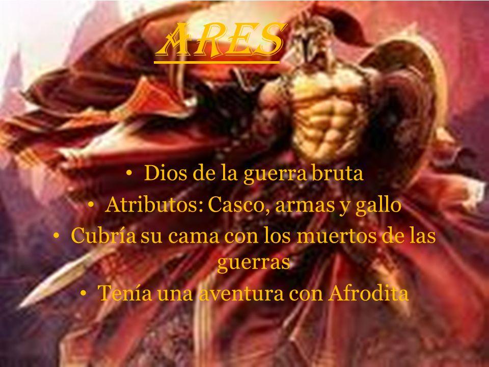 ATENEA Diosa de la sabiduría, la artesanía, de la guerra inteligente(con estrategias) y la diosa mas importante de Atenas Atributos: Casco, escudo, la