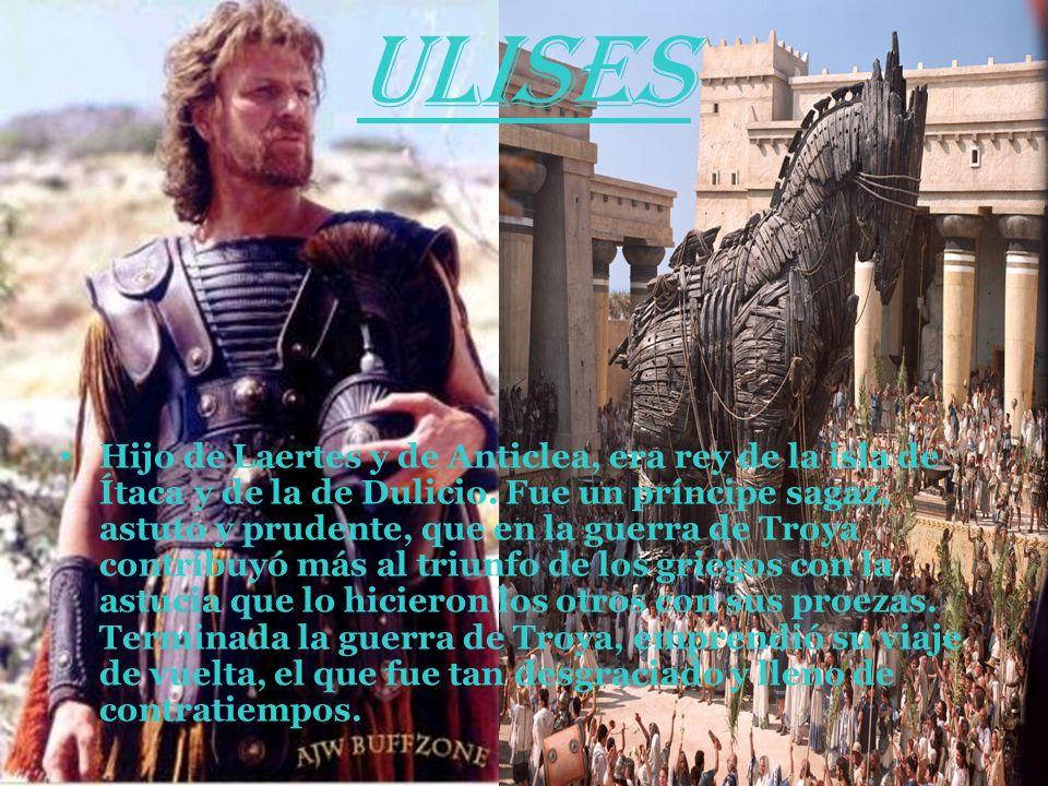 HÉROES DE GRECIA Aquiles : Era hijo de la ninfa Tetis y de Peleo. Luchó en la guerra de Troya. Para hacerlo invulnerable, su madre decidió ungirlo de