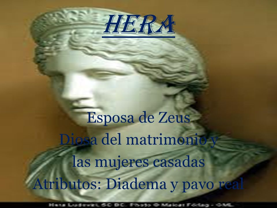ZEUS Dios de dioses, del universo y la meteorología Atributos: Águila, cetro y rayo Gran seductor Destronó a su padre