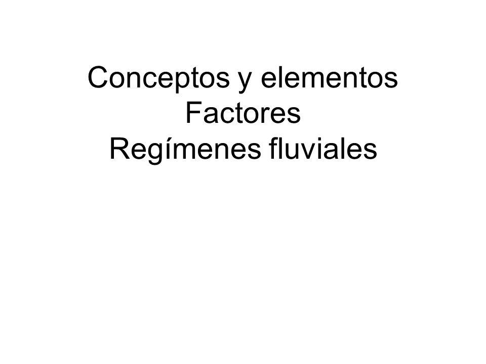 TEMA 2 LA HIDROGRAFÍA DE ESPAÑA. 4. TIPOS DE RÉGIMEN FLUVIAL EN ESPAÑA