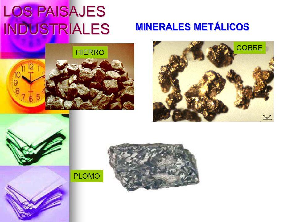 MINERALES NO METÁLICOS FOSFATOS ARCILLAS YESOS LOS PAISAJES INDUSTRIALES