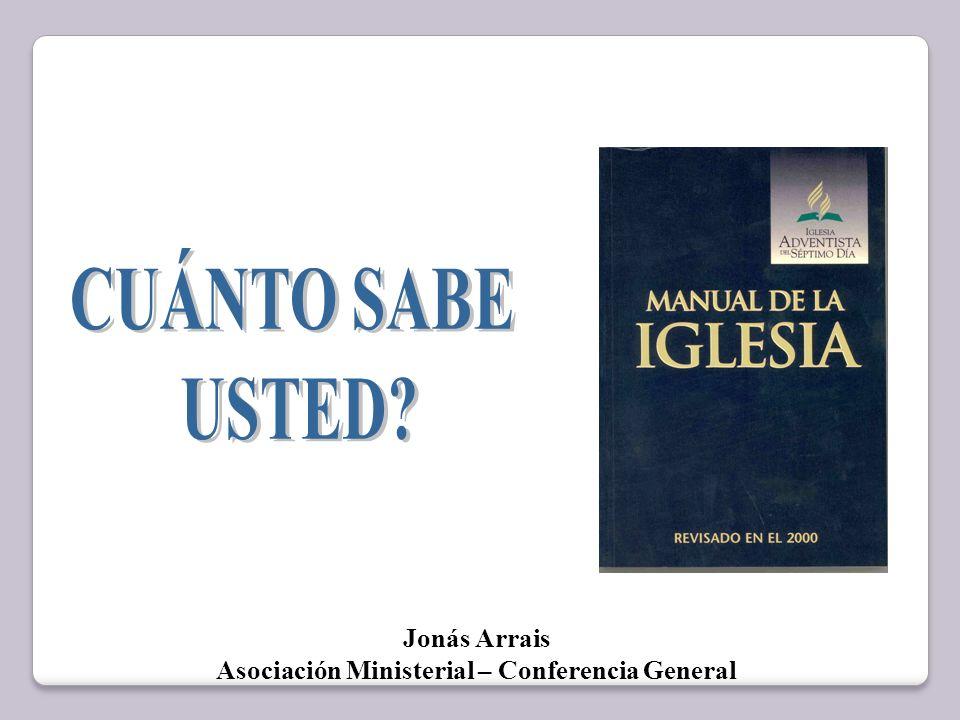 Jonás Arrais Asociación Ministerial – Conferencia General
