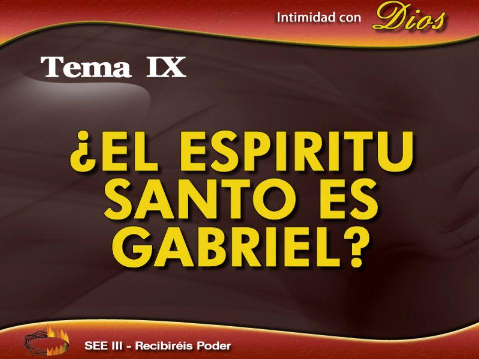 Al Espíritu Santo se lo presenta como alguien distinto y mayor que los ángeles, como El Poder de la Omnipotencia.