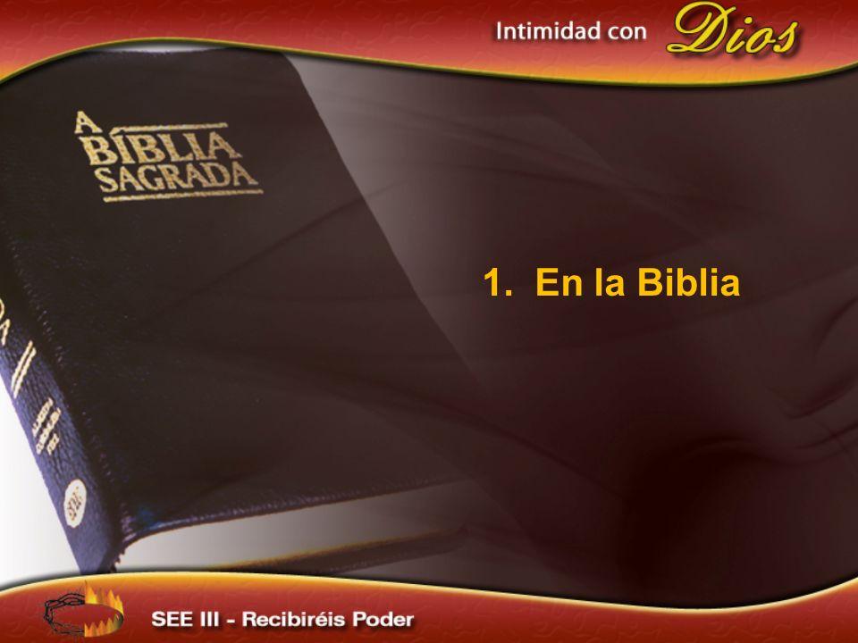 1. En la Biblia