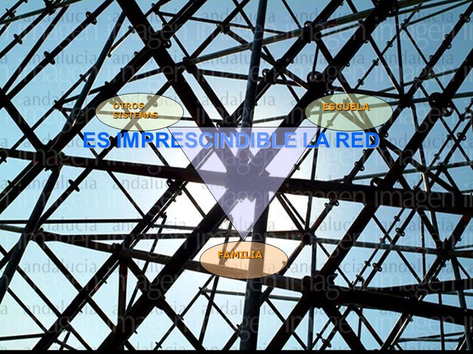 FAMILIA Y ESCUELA INFANTIL 41 27/10/2010 ES IMPRESCINDIBLE LA RED OTROS SISTEMAS FAMILIA ESCUELA