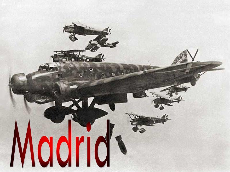 El 18 de octubre de 1936 las fuerzas nacionalistas dirigidas por Varela llegaron a las afueras de Madrid.