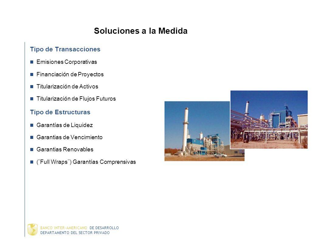 DEPARTAMENTO DEL SECTOR PRIVADO BANCO INTER-AMERICANO DE DESARROLLO Garantías Parciales de Crédito – Aspectos Estructurales Monto de la garantía depen
