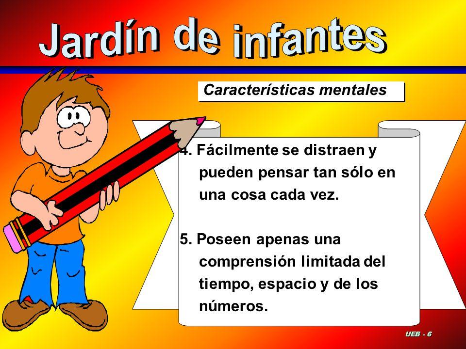 Características mentales 6.