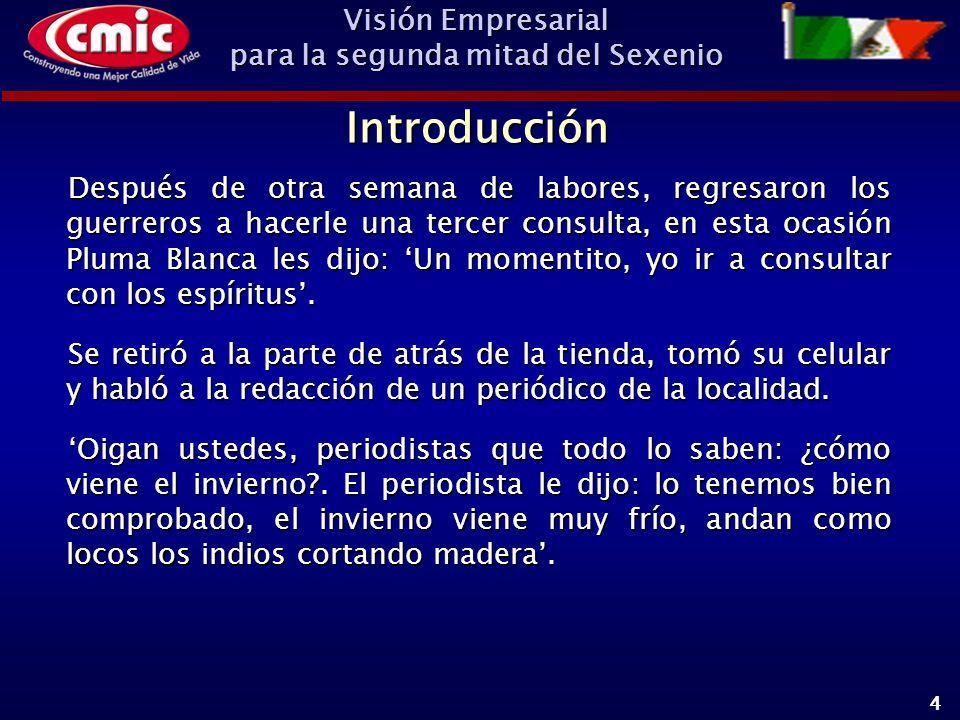 Visión Empresarial para la segunda mitad del Sexenio 15 Si estamos convencidos de que el escenario tres es la mejor forma de poner nuevamente en marcha a México, analicemos: ¿Por qué ha sido exitosa la transición Política y Económica en España y Chile?