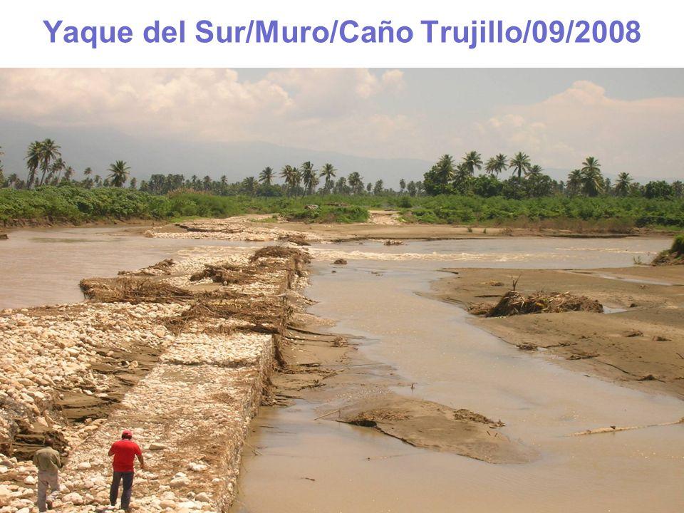 Yaque del Sur/Muro/Caño Trujillo/09/2008