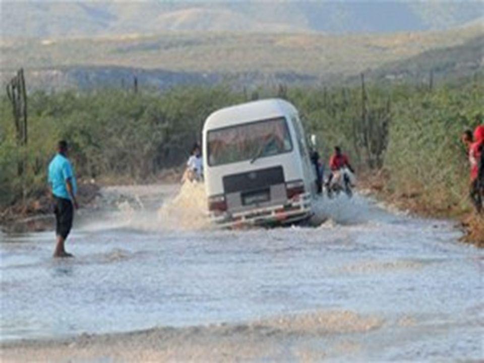 En efecto, el área inundada por el lago ha causado cuantiosos daños a la ganadería y la agricultura de las provincias Bahoruco e Independencia, cuyos pastos y cultivos han sido sepultados por las inundaciones.