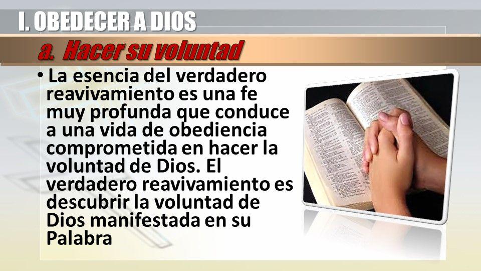 II.CONOCER A DIOS Según 1 Juan 2:5,6 ¿Qué significa conocer a Dios.
