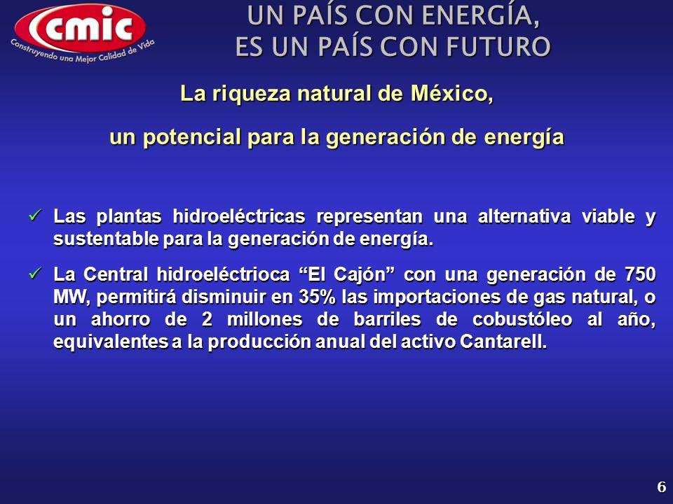 UN PAÍS CON ENERGÍA, ES UN PAÍS CON FUTURO 17 Reforma del Sector Eléctrico