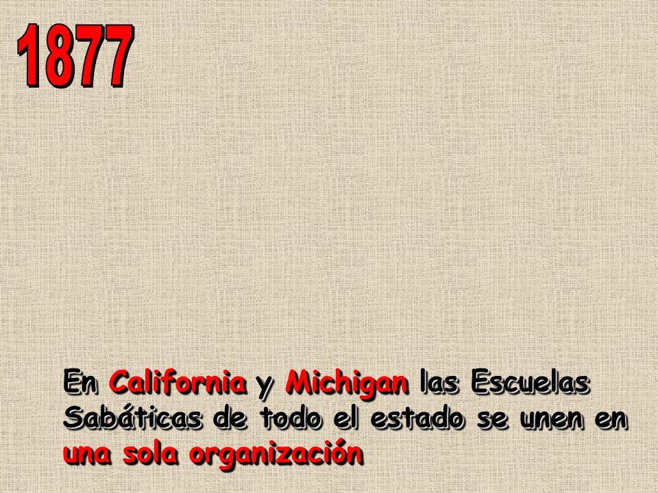 En California y Michigan las Escuelas Sabáticas de todo el estado se unen en una sola organización
