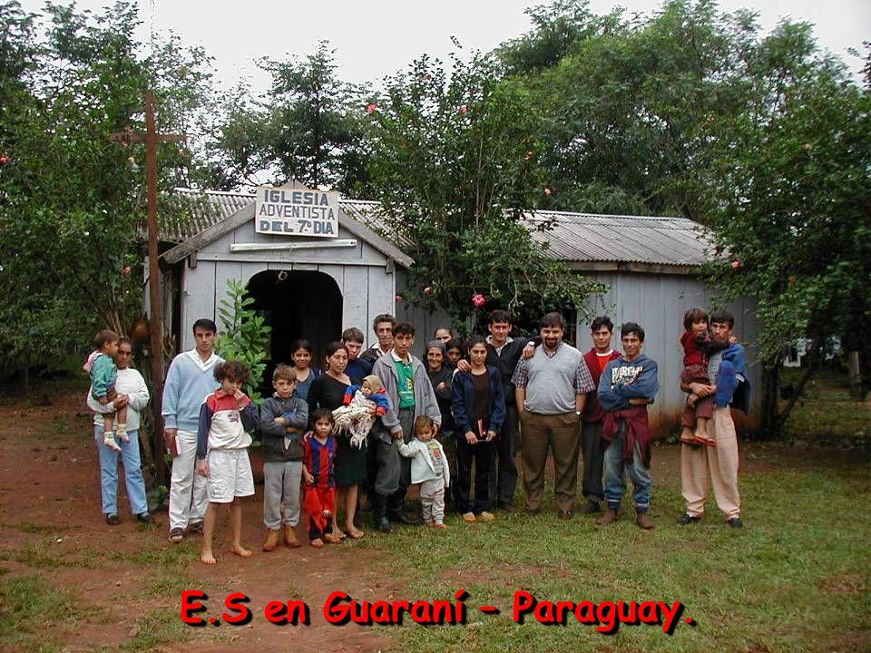 E.S en Guaraní – Paraguay.