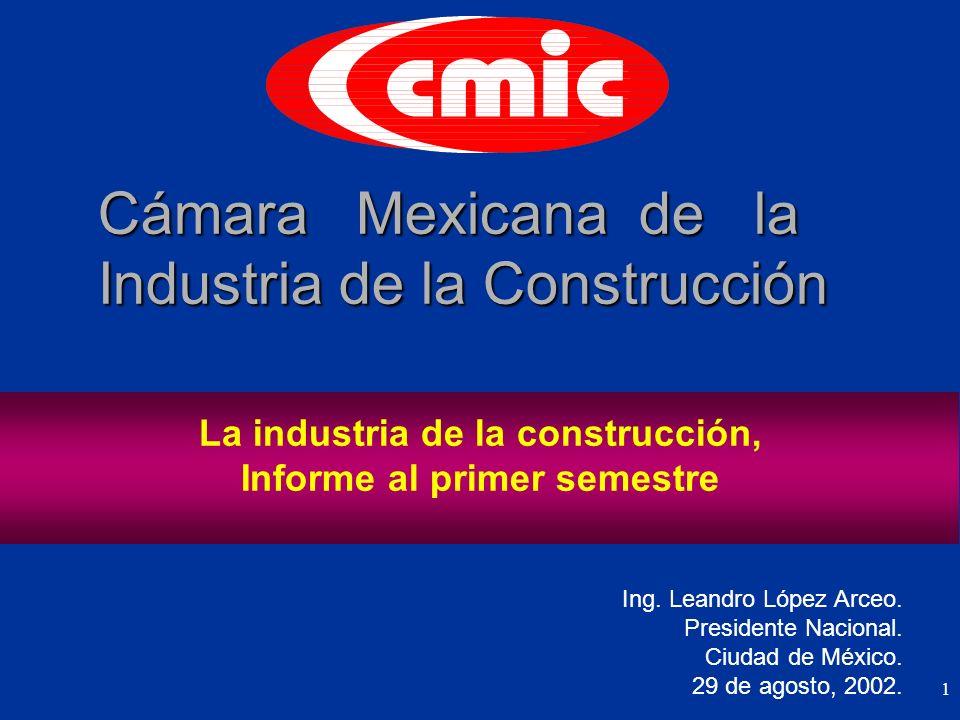 1 Cámara Mexicana de la Industria de la Construcción Ing.