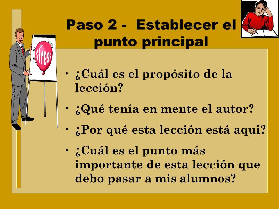 Paso 1 - Leer la lección de Auxiliar de maestro Defina un código: * = Un concepto nuevo = Una necesidad personal + = Ayude al personal # = Algo que la