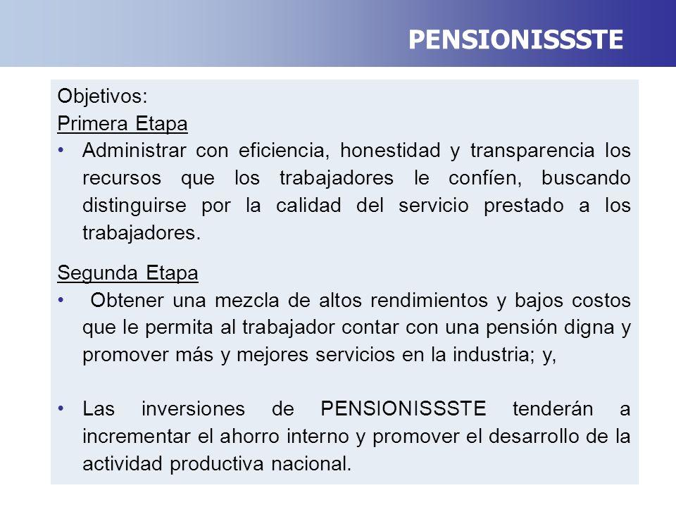 De acuerdo a la Ley del ISSSTE, a partir de mayo PENSIONISSSTE, administrará los recursos de SAR- ISSSTE.