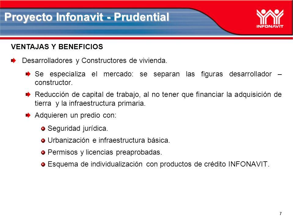 7 Proyecto Infonavit - Prudential Desarrolladores y Constructores de vivienda.