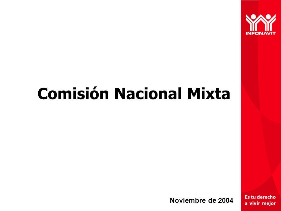 Comisión Nacional Mixta Noviembre de 2004