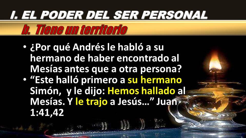 La conversación de Andrés con Jesús lo entusiasmó tanto que de inmediato fue a buscar a la persona más próxima a él.