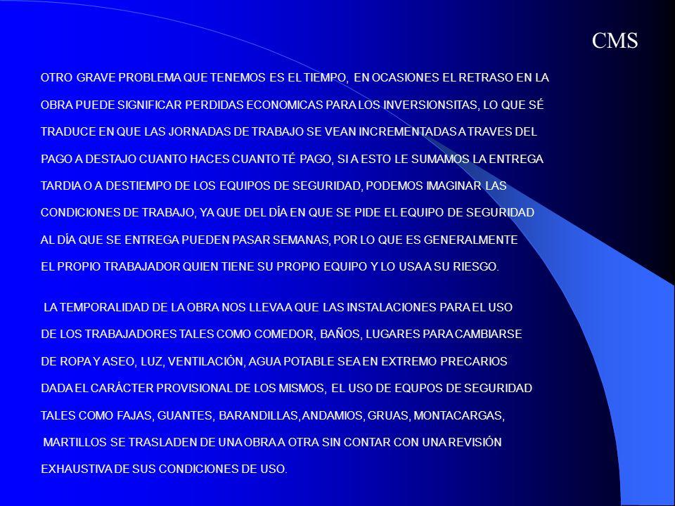 ASI MISMO LA FALTA DE PREPARACIÓN ACADEMICA O CULTURA DE LOS TRABAJADORES DE LA INDUSTRIA DE LA CONSTRUCCIÓN LOS QUE EN LA MAYORIA DE LOS CASOS SE HAN FORMADO DE MANERA EMPÍRICA, SUBIENDO EN SU NIVEL ESCALAFONARIO O CATEGORÍA GRACIAS A LOS CONOCIMIENTOS QUE HAN ADQUIRIDO PRODUCTO DE SU EXPERIENCIA EN EL TRABAJO, PASANDO DE CHALAN A AYUDANTE, DE AHÍ A OFICIAL, A MAESTRO, ETC.
