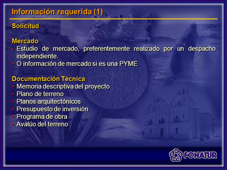 Solicitud Mercado Estudio de mercado, preferentemente realizado por un despacho independiente.
