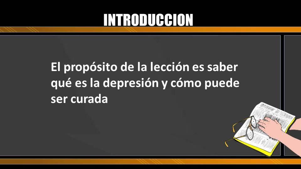 BOSQUEJO I.Saber: Los síntomas de la depresión II.Sentir: Que hay un puente de esperanza III.