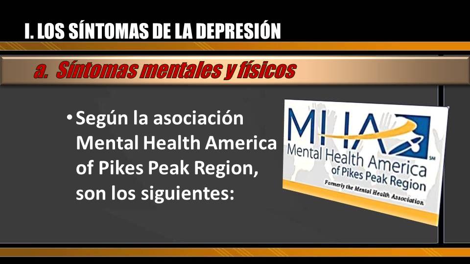 CONCLUSION ¿Qué es la depresión? ¿Cómo podemos vivir una vida de Esperanza?